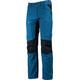 Lundhags Lockne - Pantalones de Trekking Niños - negro/Azul petróleo